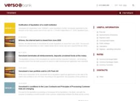 versobank.com