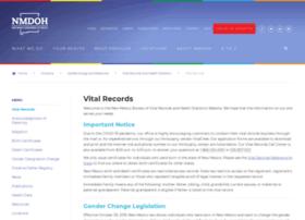 vitalrecordsnm.org