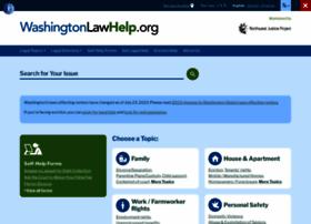 washingtonlawhelp.org