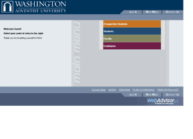 webadvisor.wau.edu