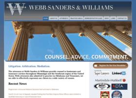 webbsanders.com