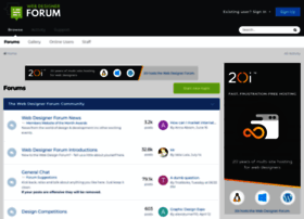webdesignerforum.co.uk
