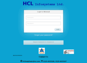 webmail.hclinsys.com