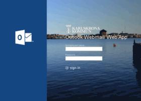webmail.karlskrona.se