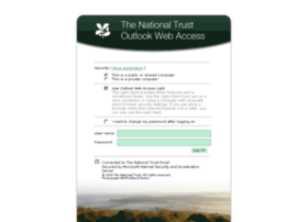 webmail.nationaltrust.org.uk