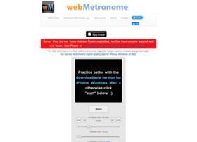 webmetronome.com