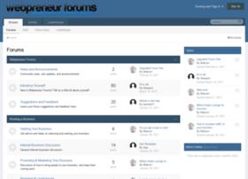 webpreneurforums.com