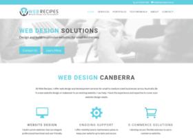 webrecipes.com.au