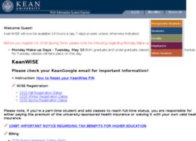 webreg.kean.edu