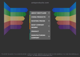 webstore.antzproducts.com