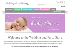 weddingandpartystore.com