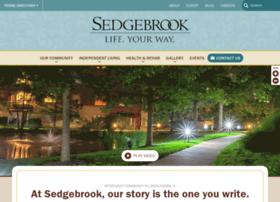 welcometosedgebrook.com