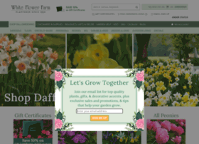 whiteflowerfarm.com