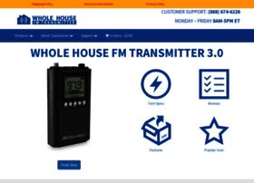 wholehousefmtransmitter.com