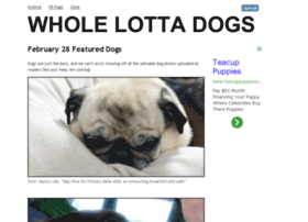 wholelottadogs.com
