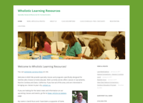wholisticlearningresources.net