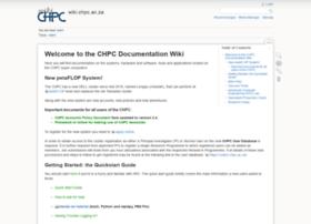 wiki.chpc.ac.za