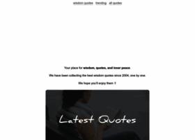 wisdomquotes.com
