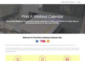 workout-calendar.com