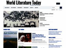 worldliteraturetoday.org