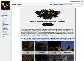 wurmpedia.com