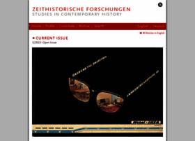 zeithistorische-forschungen.de