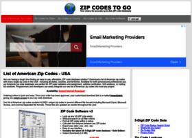 zipcodestogo.com