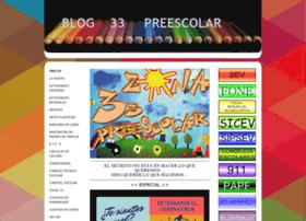 zona33preescolar.com